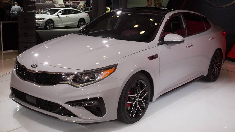 2019 Kia Optima Gets Very Minor Trim Refresh, Tech Update
