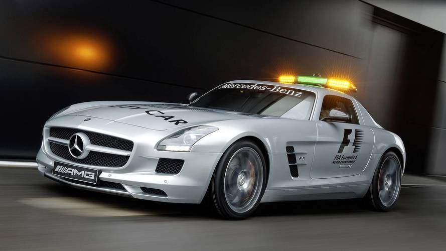 DIAPORAMA - Toutes les Safety Car Mercedes de la F1