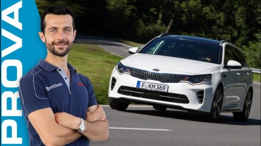 "Kia Optima Sportswagon, la familiare ""alternativa"" [VIDEO]"
