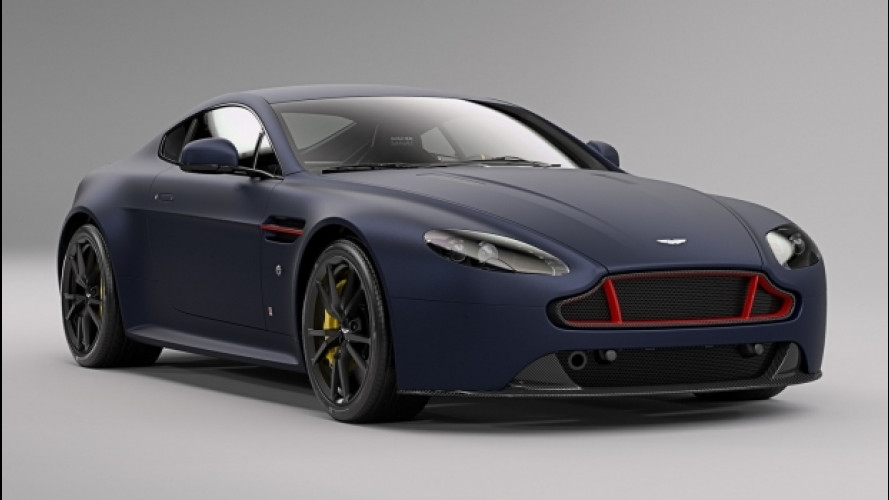 Aston Martin e Red Bull, una Vantage S in stile F1 [VIDEO]