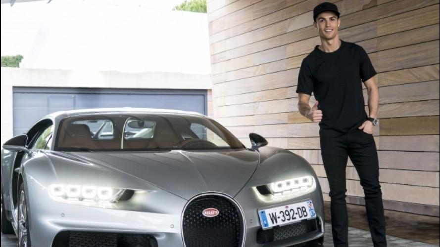 """Bugatti Chiron, è """"approvata"""" da Cristiano Ronaldo [VIDEO]"""