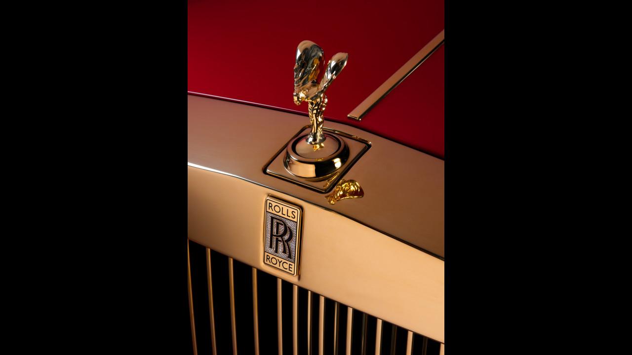Rolls-Royce Phantom d'oro