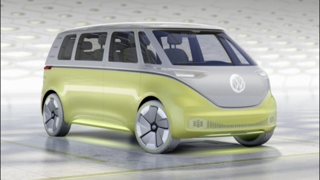 [Copertina] - Volkswagen ID Buzz showcar, il Bulli del nuovo Millennio