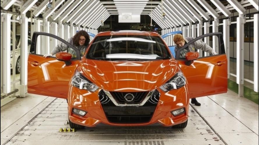 Nuova Nissan Micra, la produzione è tornata in Europa