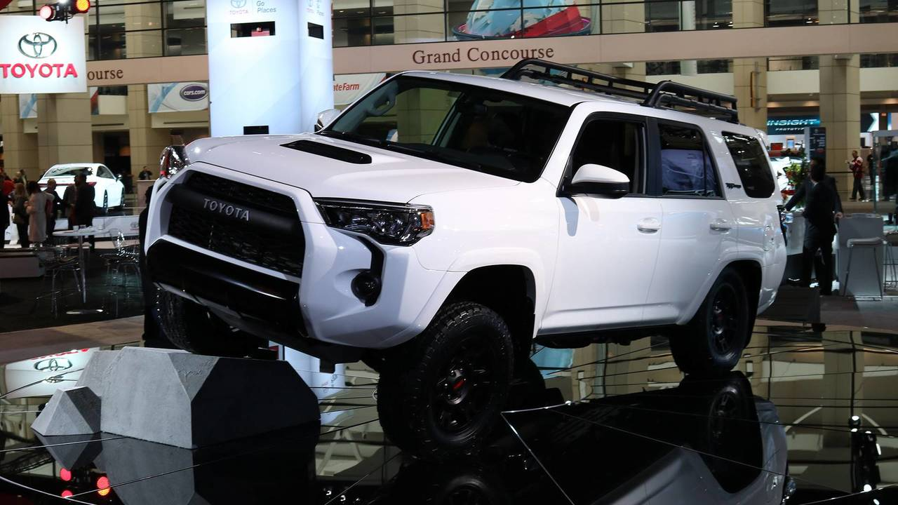 Toyota TRD Pro Lineup Get Fox Shocks To Work Even Better Off-Road
