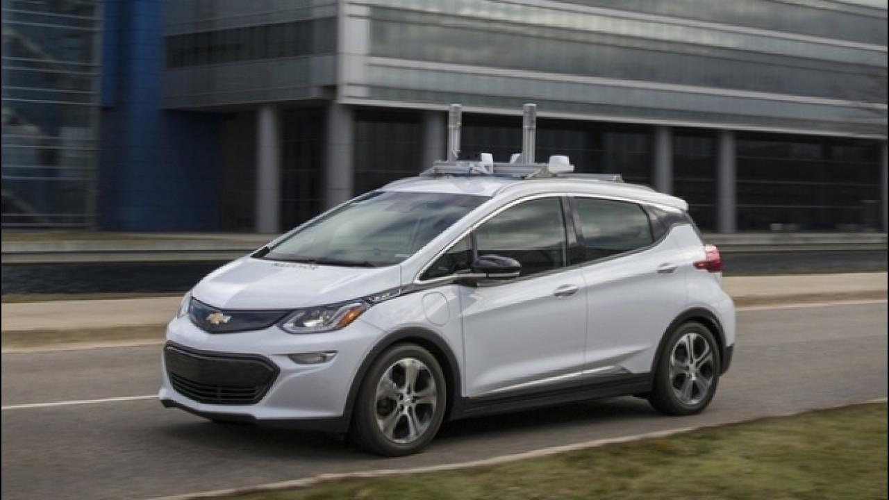 [Copertina] - Chevrolet Bolt, in America inizia a guidarsi da sola [VIDEO]