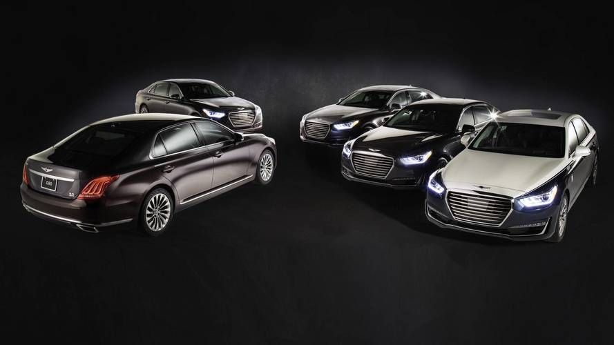 Genesis G90 special editions
