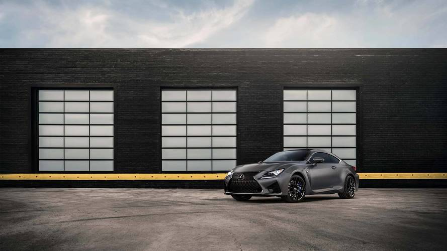 Lexus GS F, RC F 10th Anniversary Models Coming To The U.S.