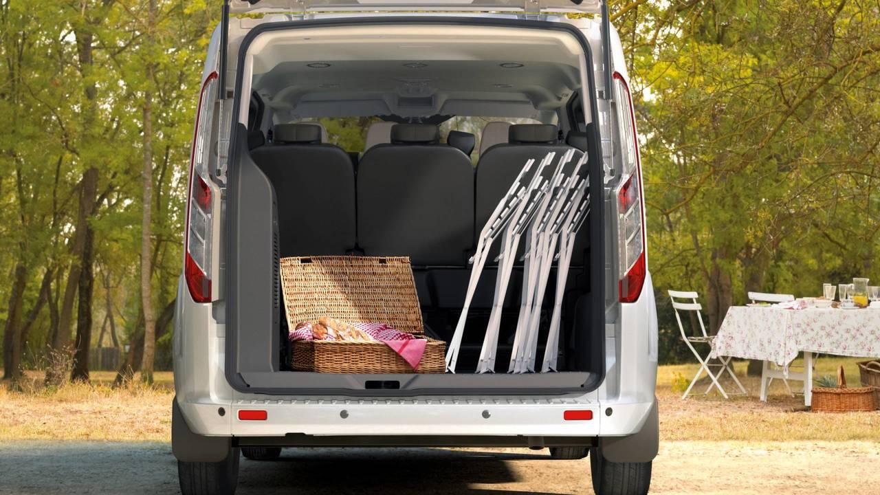 7.- Ford Tourneo Courier: 395 litros de maletero