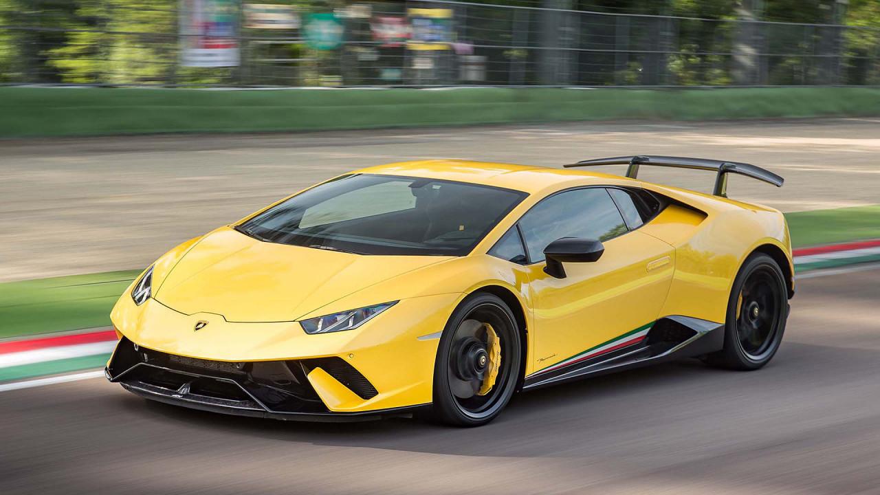 Lamborghini Huracán Performante: ca. 2,32 Kilo pro PS