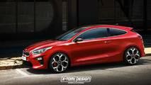 2018 Kia Proceed Coupe render