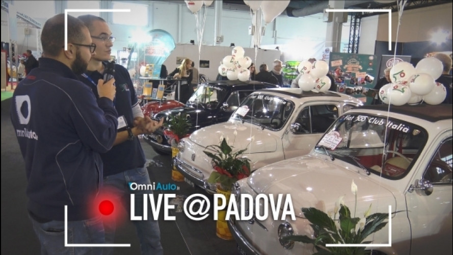 Fiat 500 da 50.000 euro ad Auto e Moto d'Epoca