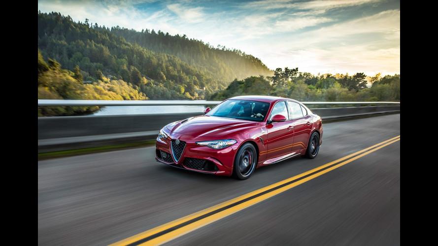 Alfa Romeo Giulia, la prova degli americani