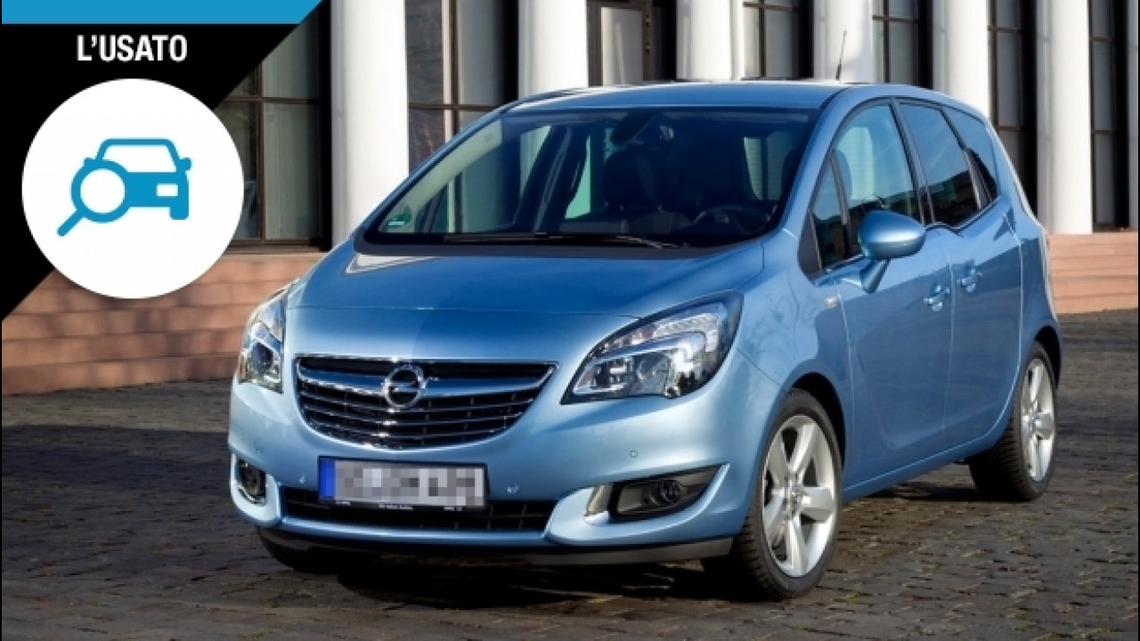 [Copertina] - Opel Meriva, tanto spazio a poco prezzo