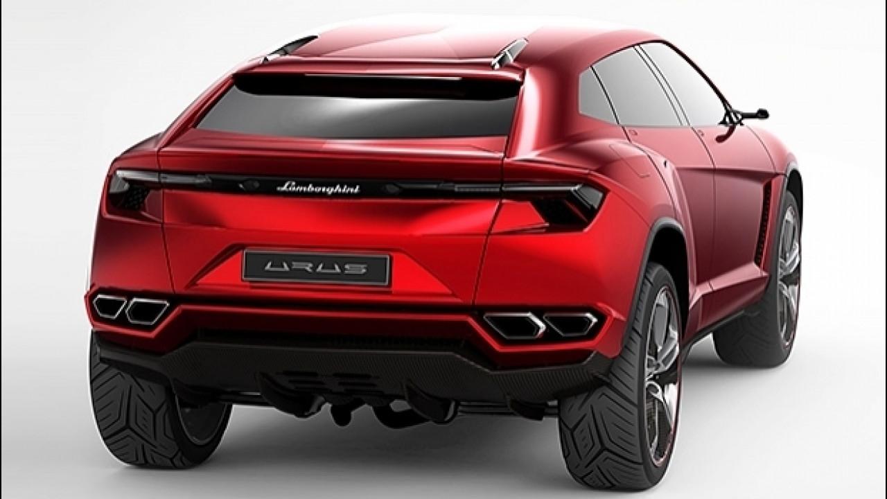 [Copertina] - Lamborghini Urus, il SUV del Toro nasce ad aprile