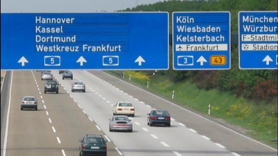 [Copertina] - Autostrade, dal 2019 in Germania le pagano solo gli stranieri