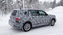 Mercedes-Benz GLB-Class spy photo