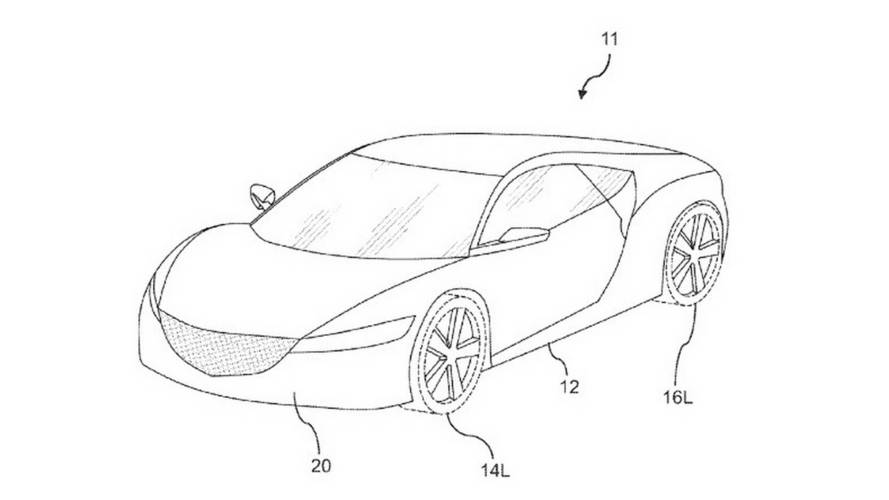 Honda Uses Nsx Images In Patent For New Air Dam Is It For Type R
