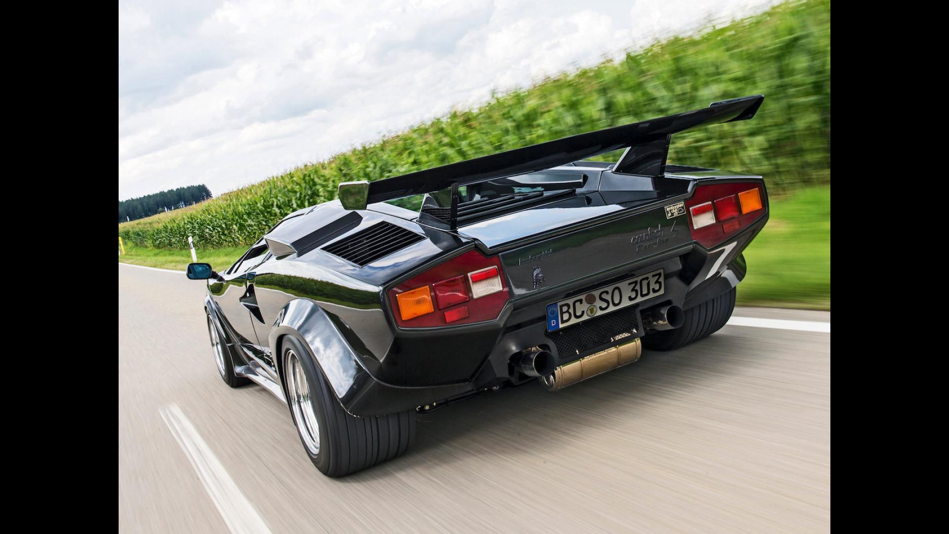 Lamborghini Countach Il Coraggio Di Cambiare