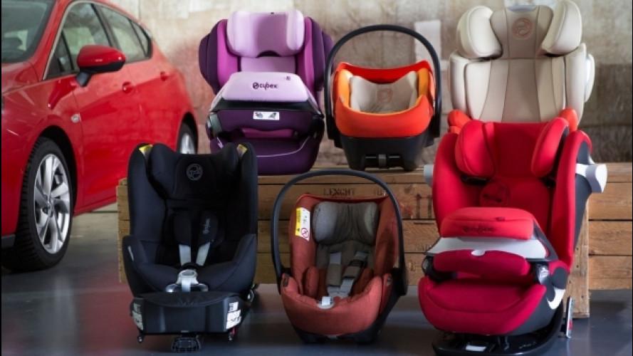 Bambini in auto, dal 2017 cambiano le regole per i seggiolini