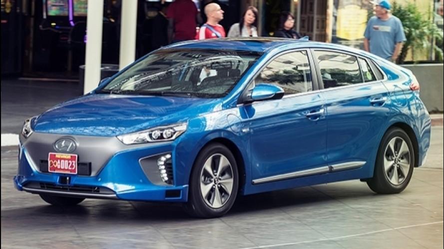 Hyundai Ioniq a guida autonoma, il prototipo