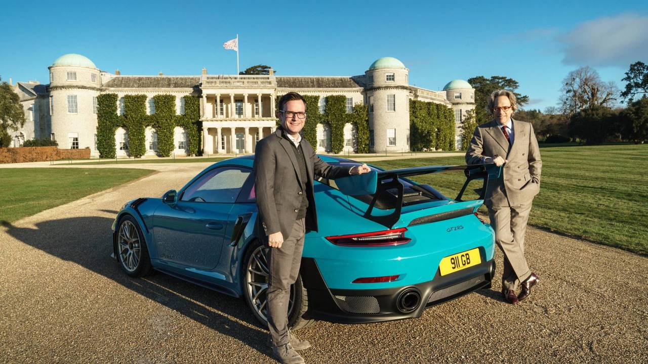 Goodwood Porsche Announcement