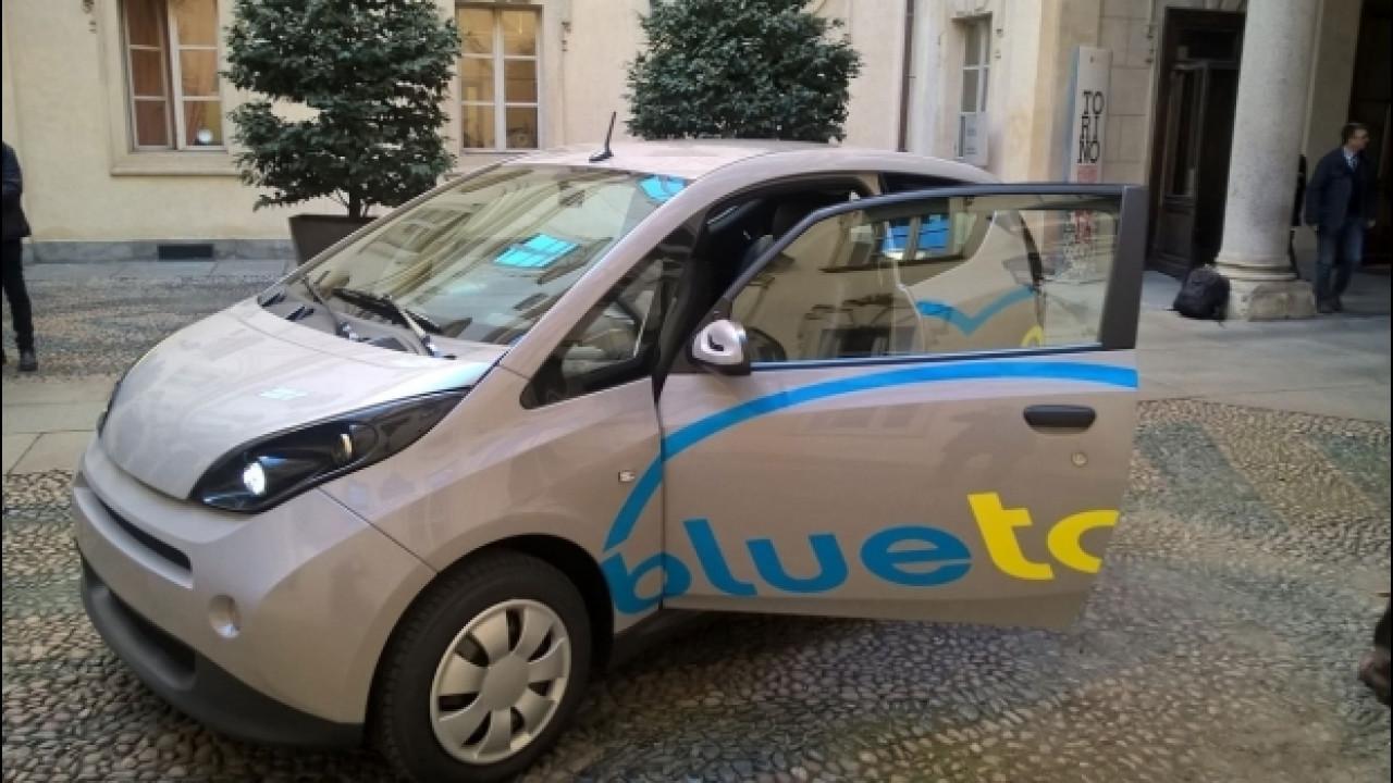 [Copertina] - Car sharing, quello elettrico di BlueTorino entra nella fase due