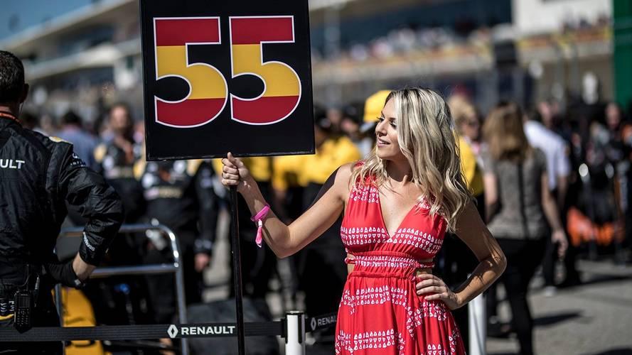 Les grid girls en F1, c'est fini !