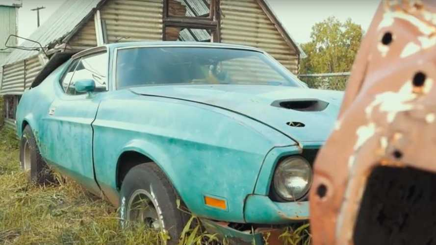 Ford Mustang graveyard houses a Mach 1 429 Cobra Jet and more!