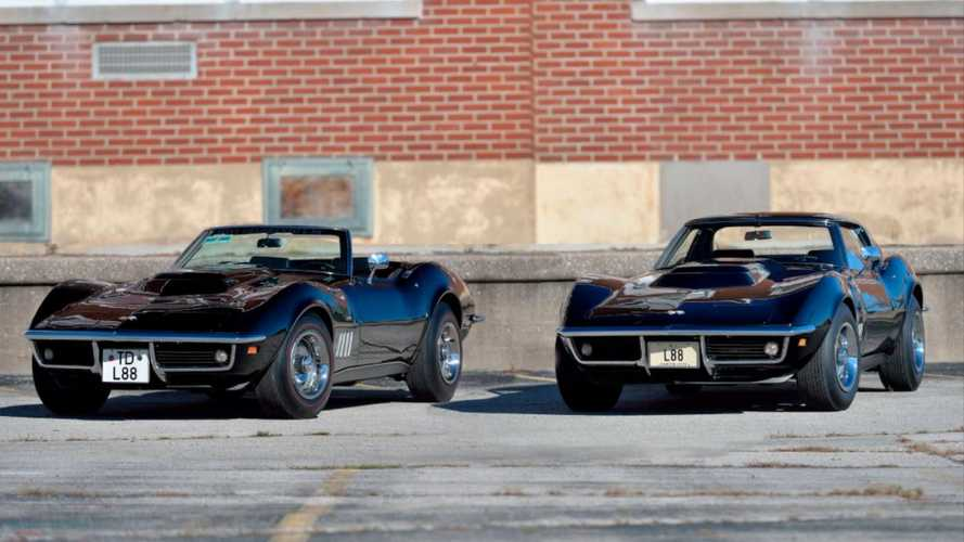 Think one L88 Corvette is rare? How about a matching pair!