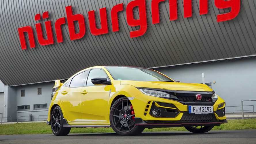 Hop aboard Civic Type R Limited Edition while it hot laps the 'Ring