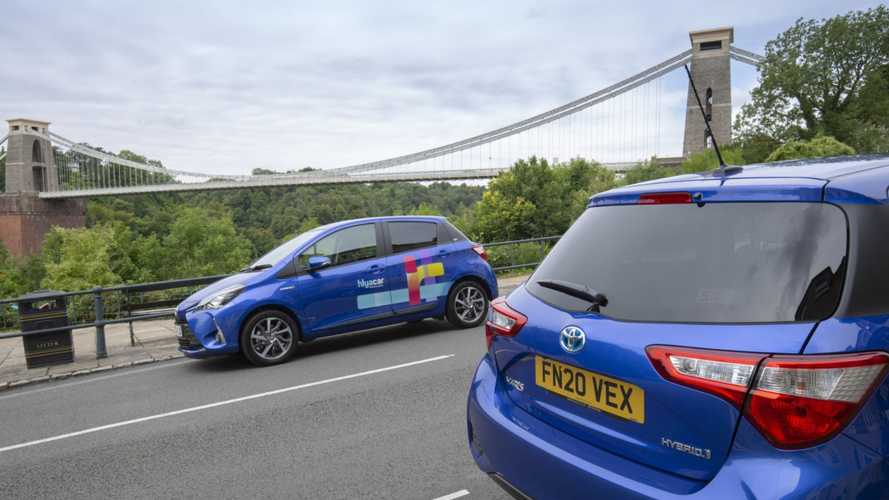 Bristol car-sharing scheme launches with 25 Toyota Yaris Hybrids