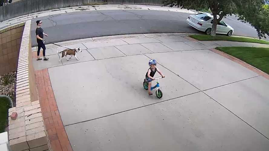This Dude Finds The Best Way To Deal With Kids Playing In Driveway
