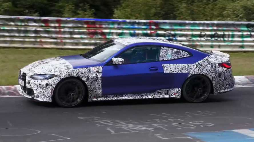 BMW M3 and M4 spied lapping the Nurburgring in spy video