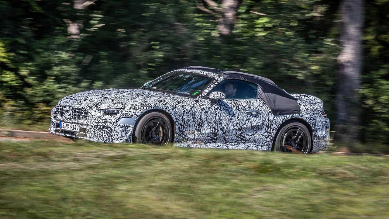 Mercedes-Benz SL 2021, teaser