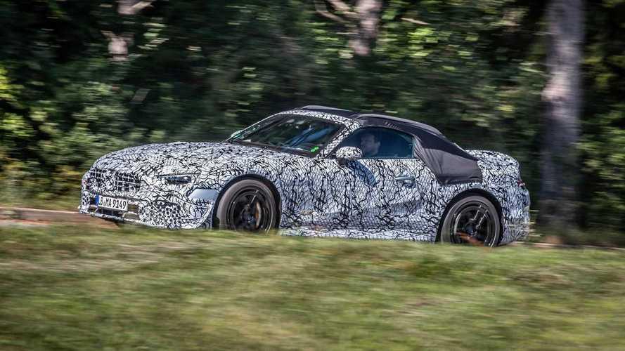 Mercedes-Benz SL 2021: fotos espía oficiales del roadster alemán