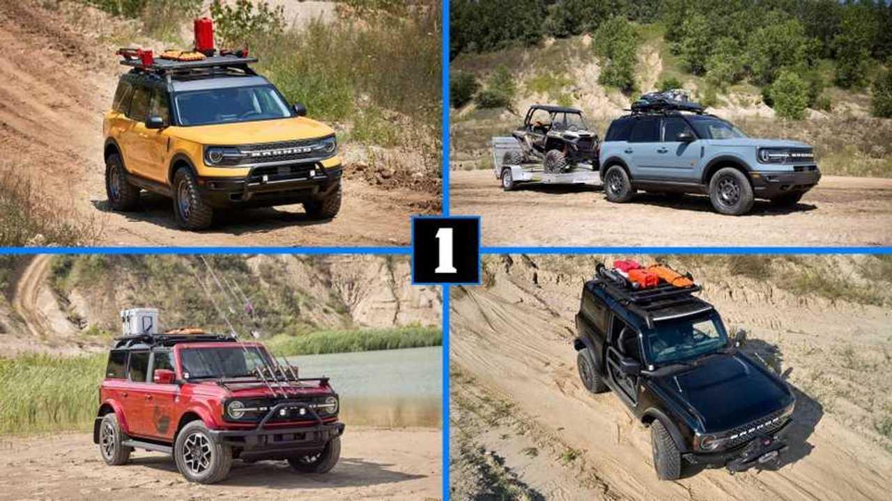 Ford Bronco adventure concepts
