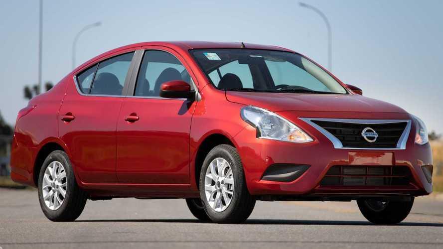 Nissan Versa V-Drive ganha 6 airbags e ESP de série... no México