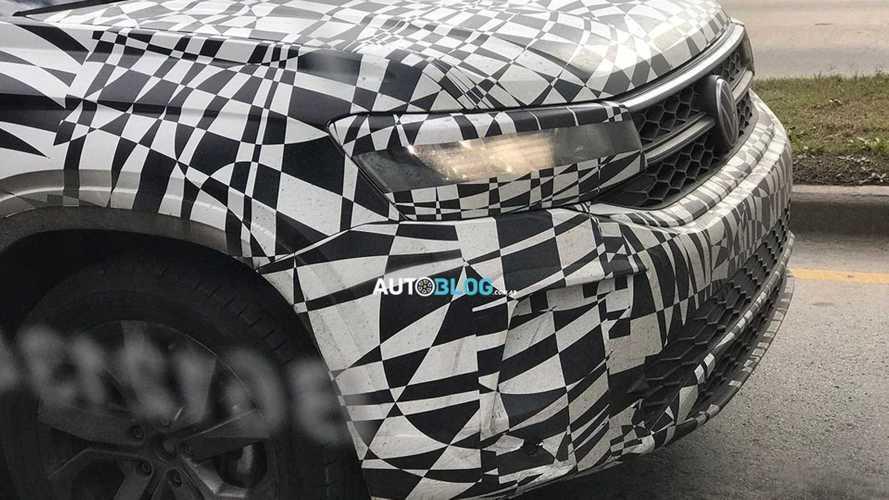 Volkswagen Tarek шпионское фото