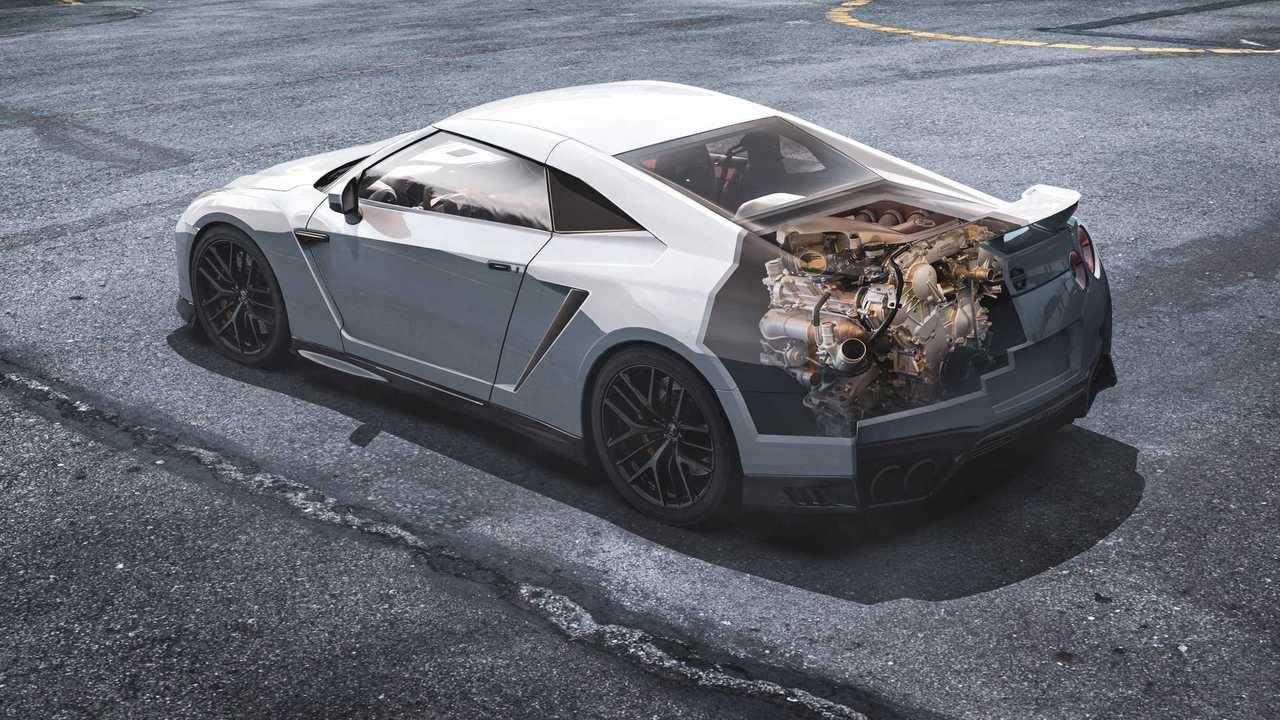 Nissan GT-R: Mid