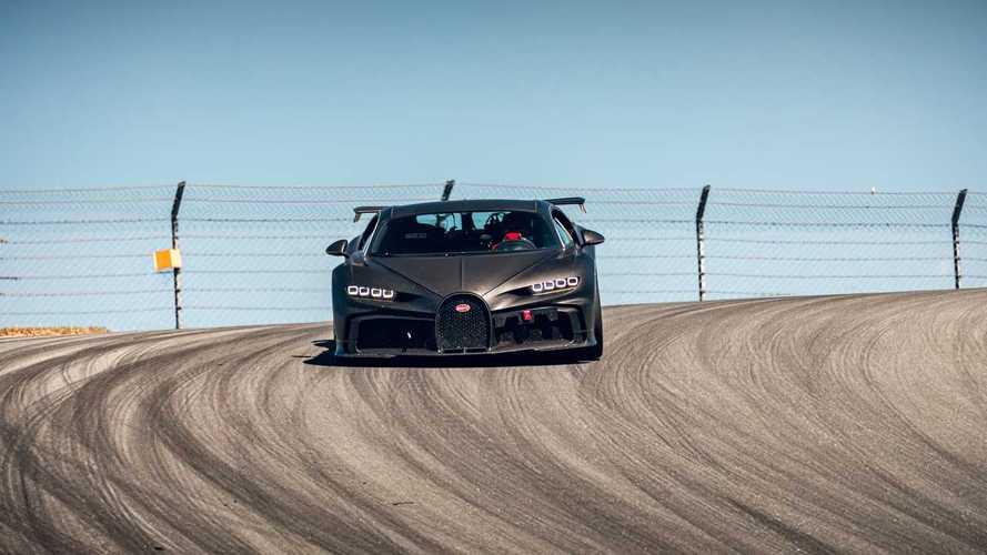 Németország legdombosabb pályáján is helyt áll a Bugatti Chiron Pur Sport
