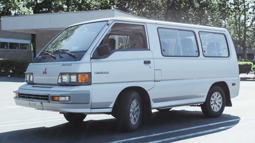 Sit Ahead Of Your Front Wheels In This '80s Mitsubishi Van For Just $5K