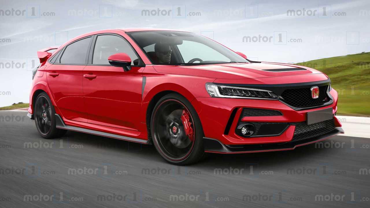 Next-Gen Honda Civic Type R Rending By Motor1.com