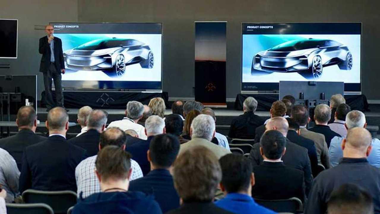 Faraday Future раскрыл дизайн своего второго электромобиля