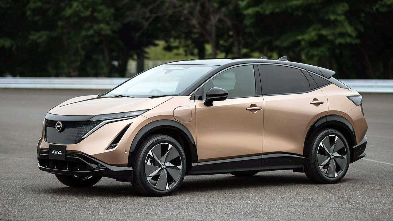 Nissan Ariya (c 2021 года)