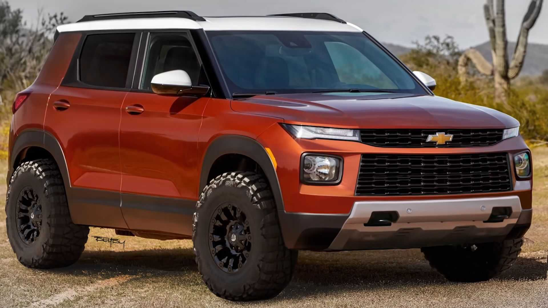 2021 chevrolet trailblazer gets offroad reboot in new