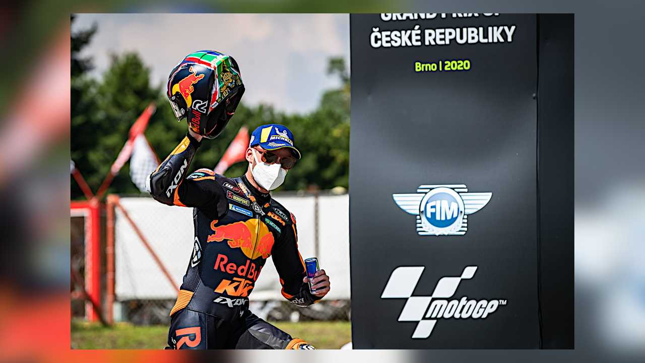 Brad Binder MotoGP Brno 2020 KTM first-ever win