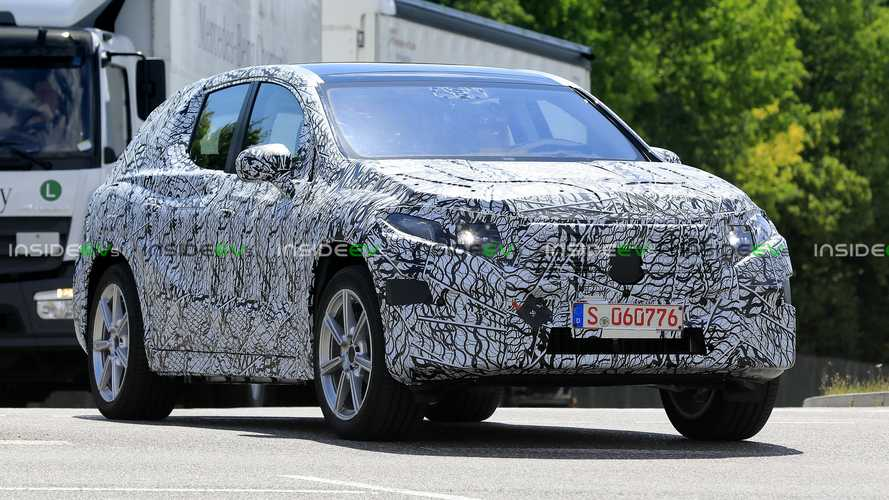 All-New Mercedes-Benz EQC Already Spied Testing, Looks Like An R-Class