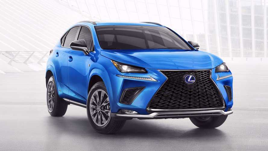 2021 Lexus NX 300h F Sport Debuts With Black Line Special Edition