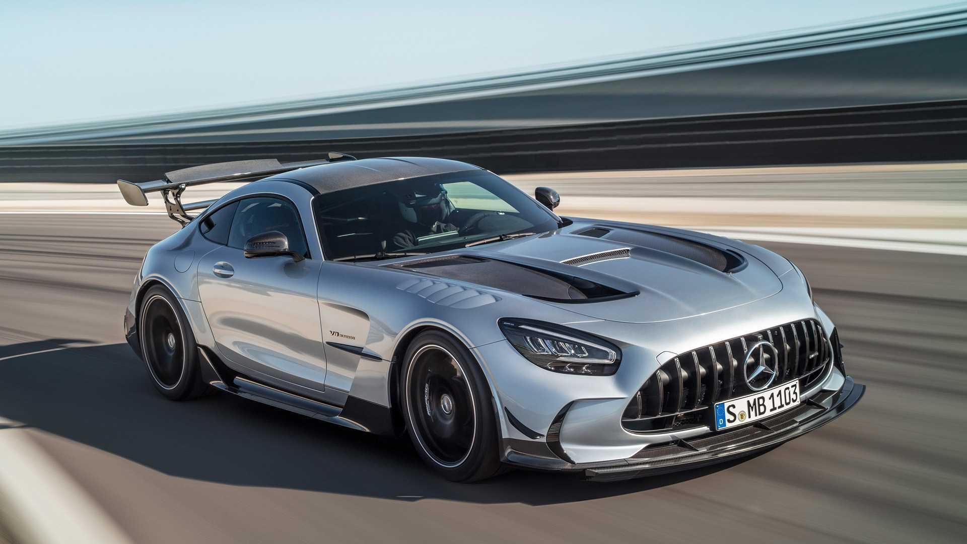 2021 Mercedes-AMG GT Black Series Revealed: Big Power ...